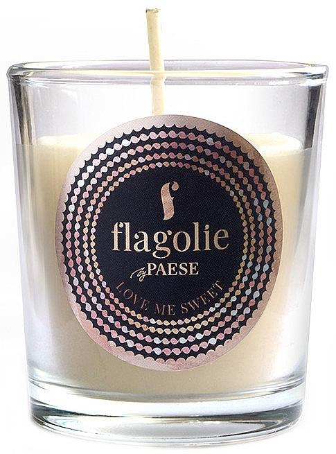 """Ароматическая свеча """"Люби меня сладко"""" - Flagolie Fragranced Candle Love Me Sweet — фото N1"""