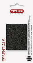 Духи, Парфюмерия, косметика Пемза для ног, особо грубая, черный, 6,5x5 см - Titania