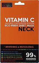 Экспресс-маска для шеи - Beauty Face IST Whitening & Restorating Neck Mask Vitamin C — фото N1