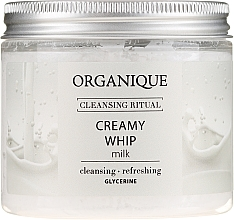 "Пенка для тела ""Milk"" - Organique Cleansing Ritual Creamy Whip Milk — фото N1"