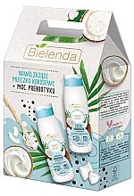 Духи, Парфюмерия, косметика Набор - Bielenda Beauty Milky Coconuts (milk/400ml + sh/milk/400ml)