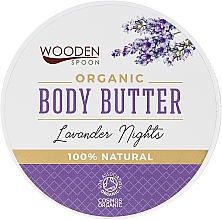 "Духи, Парфюмерия, косметика Масло для тела ""Лавандовая ночь"" - Wooden Spoon Lavander Nights Body Butter"