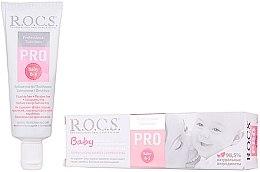 Духи, Парфюмерия, косметика Зубная паста для детей - R.O.C.S. PRO Baby