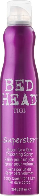 Спрей для дополнительного объема волос - Tigi Superstar Queen For A Day Thickening Spray  — фото N1