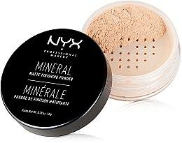 Духи, Парфюмерия, косметика Минеральная финишная пудра - NYX Professional Makeup Mineral Matte Finishing Powder