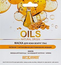 Духи, Парфюмерия, косметика Маска для кожи вокруг глаз - BelKosmex Oils Natural Origin