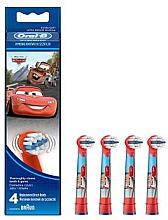 Духи, Парфюмерия, косметика Детские насадки для зубных щеток EB10-4, Легковые автомобили - Oral-B Stages Power Disney