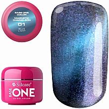 Духи, Парфюмерия, косметика Гель для ногтей - Silcare Base One Magnetic Chameleon UV Gel Color