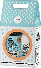 Духи, Парфюмерия, косметика Набор - Yope Zimowe Ciasteczka (b/balm/300ml + l/soap/500ml)