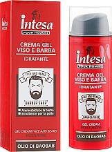 Духи, Парфюмерия, косметика Гель-крем для лица и бороды - Intesa Gel Cream Face And Beard
