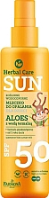Духи, Парфюмерия, косметика Водостойкое детское молочко для загара - Farmona Herbal Care Sun SPF 50