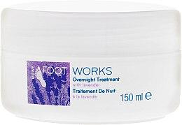 Духи, Парфюмерия, косметика Ночной крем для ног с экстрактом лаванды - Avon Foot Works Overnight Tretment