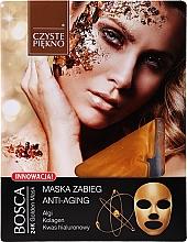 Духи, Парфюмерия, косметика Антивозрастная маска для лица - Czyste Piekno Bosca Anti-Aging 24K Golden Mask