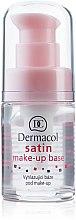 Духи, Парфюмерия, косметика База под макияж матирующая с выравнивающим эффектом - Dermacol Satin Base Make-Up
