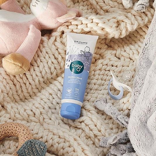 Крем под подгузник - Oriflame Baby O Diaper Cream — фото N4