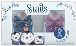 Духи, Парфюмерия, косметика Набор детских лаков для ногей 2х10,5ml - Snails Mini Bebe Penguin