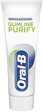 Зубная паста - Oral-B Gumline Purify Gentle Whitening Toothpaste — фото N3
