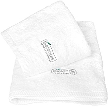 Духи, Парфюмерия, косметика Махровое полотенце с логотипом, 70x140 - Bielenda Professional