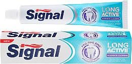 Духи, Парфюмерия, косметика Зубная паста с микрогранулами - Signal Long Active Intensive Cleaning