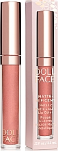 Духи, Парфюмерия, косметика Жидкая матовая помада - Doll Face Matte Metallic Liquid Lip Color