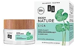 Духи, Парфюмерия, косметика Увлажняющий и восстанавливающий крем для лица - AA Enjoy Nature Cica Moisturising Regenerating Cream