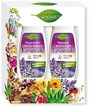 Духи, Парфюмерия, косметика Набор - Bione Cosmetics Lavender (s/gel260ml + sh/260ml)
