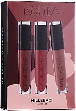 Духи, Парфюмерия, косметика Набор - NoUBA Millebaci Travel Set №2 (lipstick/3х6ml)