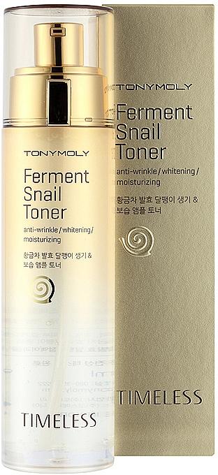 Тонер с ферментированным экстрактом улитки - Tony Moly Timeless Ferment Snail Toner — фото N1