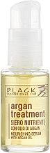 Духи, Парфюмерия, косметика Сыворотка для волос с аргановым маслом, кератином и колагеном - Black Professional Line Argan Treatment Serum