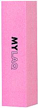 Духи, Парфюмерия, косметика Блок-полировщик для ногтей 240 грит, розовый - MylaQ