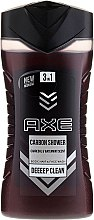 Духи, Парфюмерия, косметика Гель для душа 3в1 - Axe Carbon Shower Gel