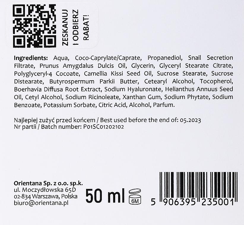 Крем для лица - Orientana Natural Snail Cream — фото N3