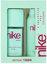Духи, Парфюмерия, косметика Nike Sparkling Day Woman - Набор (deo/200ml + deo/spray/75ml)