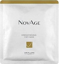 Духи, Парфюмерия, косметика Укрепляющая тканевая маска для лица - Oriflame NovAge Strengthening Face Mask