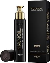 Духи, Парфюмерия, косметика Масло для волос с средней пористостью - Nanoil Hair Oil Medium Porosity