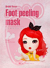 Духи, Парфюмерия, косметика Тканевая маска для пилинга ступней - The Orchid Skin Orchid Flower Foot Peeling Mask