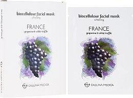 """Духи, Парфюмерия, косметика Тканевая маска """"Франция"""" - Calluna Medica France Whitening Biocellulose Facial Mask"""