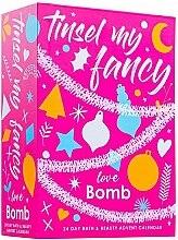 Духи, Парфюмерия, косметика Набор - Bomb Cosmetics Tinsel My Fancy 24 Day Bath & Beauty Advent Calendar