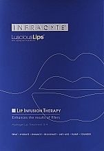 Духи, Парфюмерия, косметика Гидрогелевая маска для губ - Infracyte Luscious Lips Anti-Aging Lip Treatment