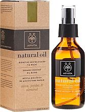 Духи, Парфюмерия, косметика Композиция натуральных масел - Apivita Organic oil blend