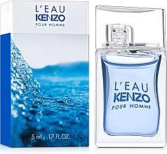 Духи, Парфюмерия, косметика Kenzo Leau par Kenzo pour homme - Туалетная вода (мини)