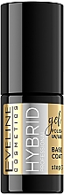 Духи, Парфюмерия, косметика Гибридное базовое покрытие для ногтей - Eveline Cosmetics Hybrid Professional Base Coat