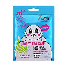 """Духи, Парфюмерия, косметика Маска для лица """"Счастливый тюлень"""" - 7 Days Animal Happt Sea Calf"""