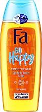 """Духи, Парфюмерия, косметика Гель для душу """"Создай свое настроение"""" с фруктовым ароматом - Fa Go Happy Shower Gel"""