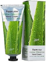 Духи, Парфюмерия, косметика Крем для рук алоэ - Farmstay Visible Differerce Hand Cream Aloe