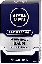 Духи, Парфюмерия, косметика Бальзам после бритья увлажняющий - Nivea Men Prtotect & Care Moisturizing After Shave Balm