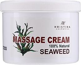 Духи, Парфюмерия, косметика Массажный крем с водорослями - Hristina Cosmetics Seaweed Massage Cream
