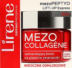 Духи, Парфюмерия, косметика Укрепляющий крем для лица - Lirene Mezo Collagene SPF 15