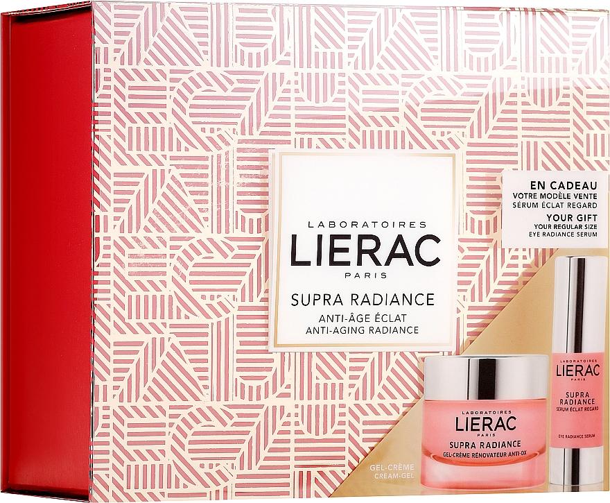 Набор - Lierac Supra Radiance (gel/cr/50ml + eye/ser/15ml) — фото N1