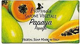 """Духи, Парфюмерия, косметика Мыло натуральное """"Папайя"""" - Florinda Papaya Natural Soap"""
